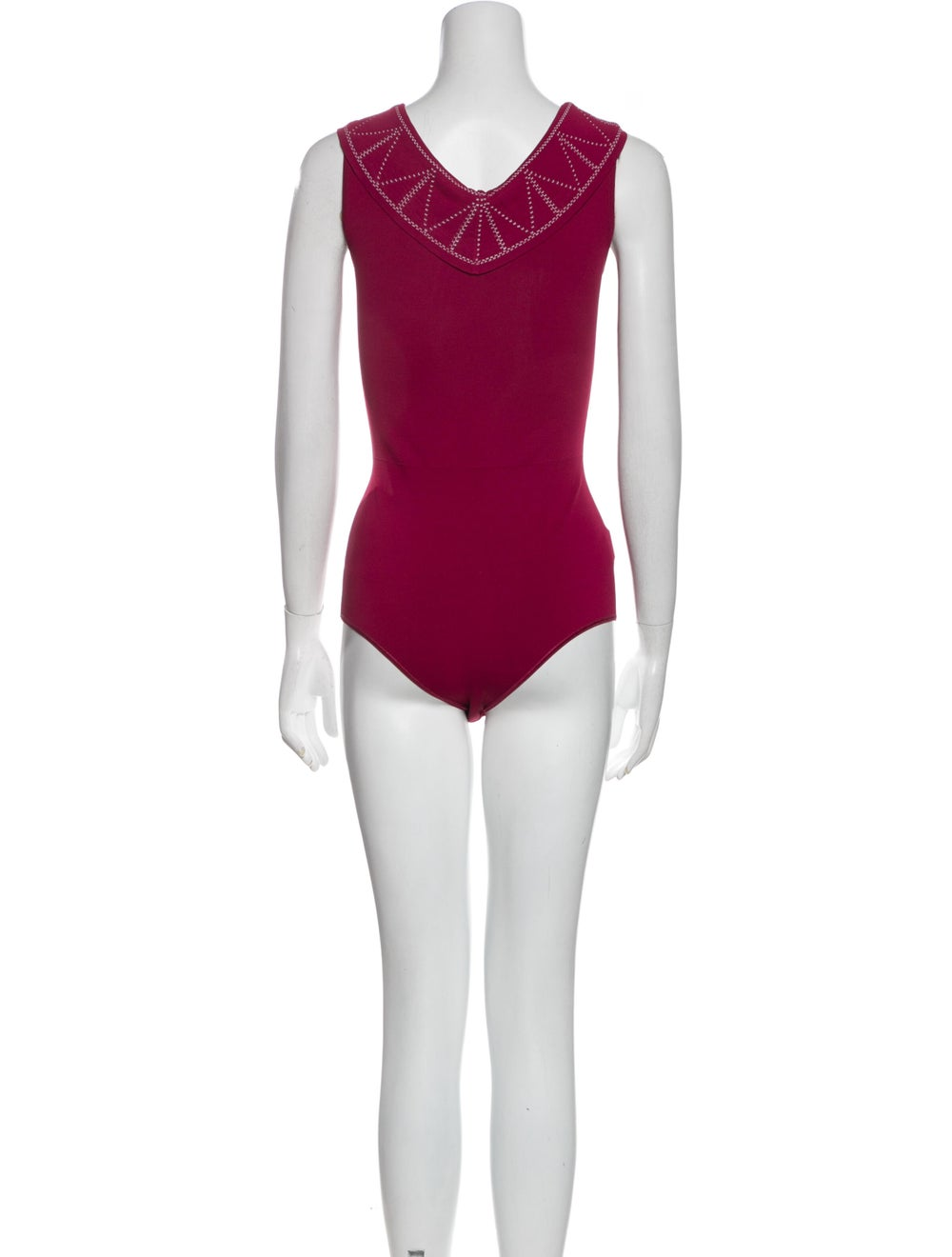 Alaïa 2020 Embroidered Bodysuit Bodysuit - image 3