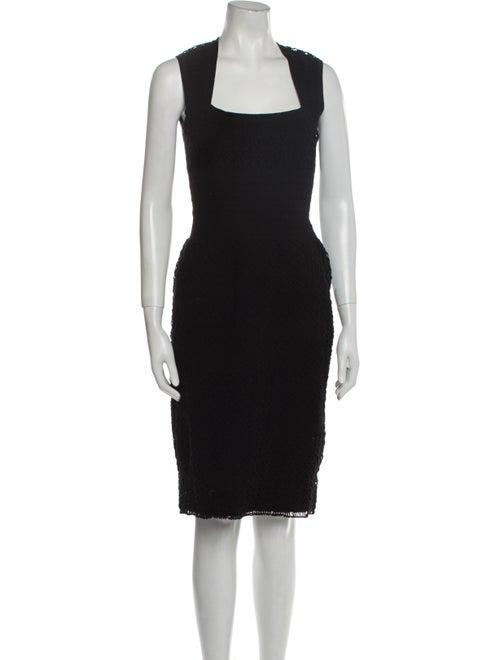 Alaïa Wool Knee-Length Dress Wool