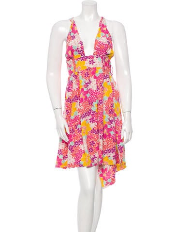 Alexandre Herchcovitch Sleeveless Wrap Dress