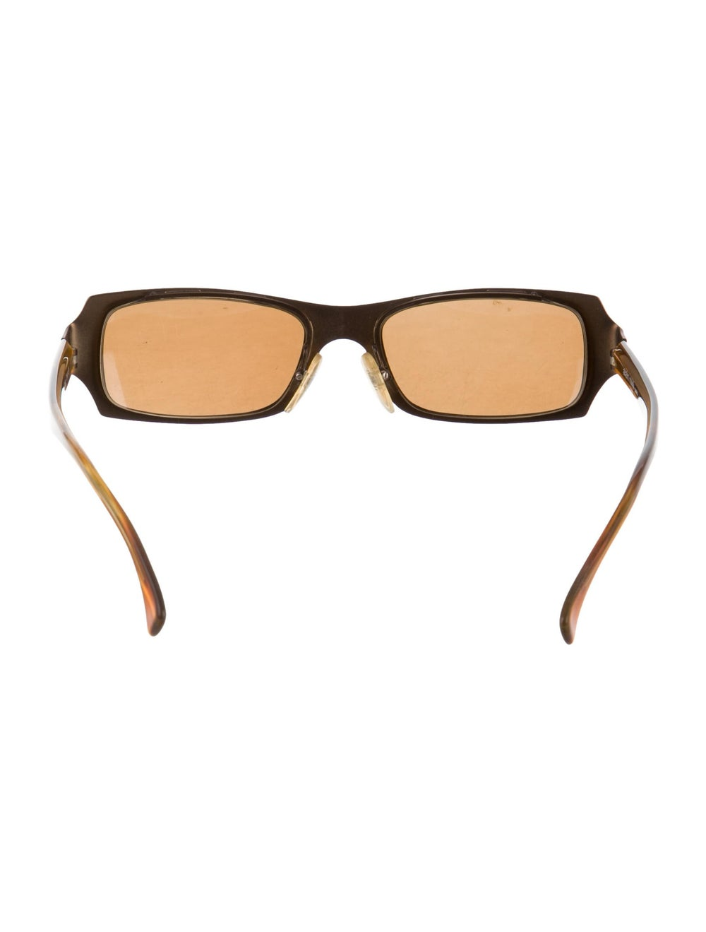 Alain Mikli Tinted Narrow Sunglasses Brown - image 3