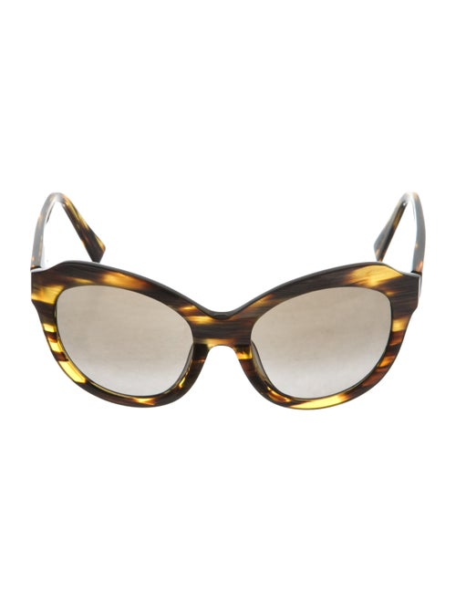 Alain Mikli Tortoiseshell Oversize Sunglasses