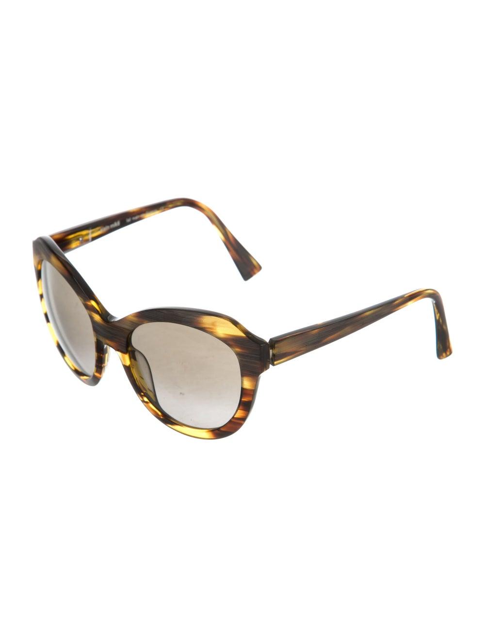 Alain Mikli Tortoiseshell Oversize Sunglasses - image 2