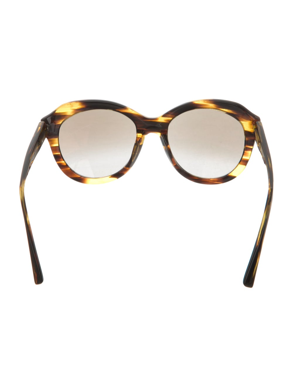 Alain Mikli Tortoiseshell Oversize Sunglasses - image 3
