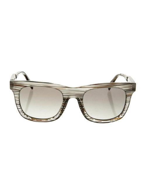 Alain Mikli Tinted Wayfarer Sunglasses Grey - image 1