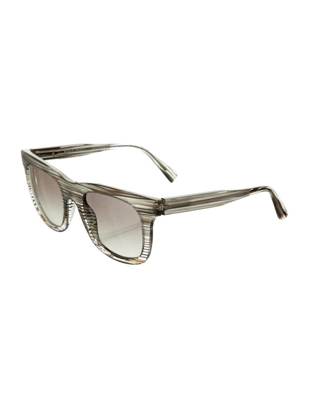 Alain Mikli Tinted Wayfarer Sunglasses Grey - image 2
