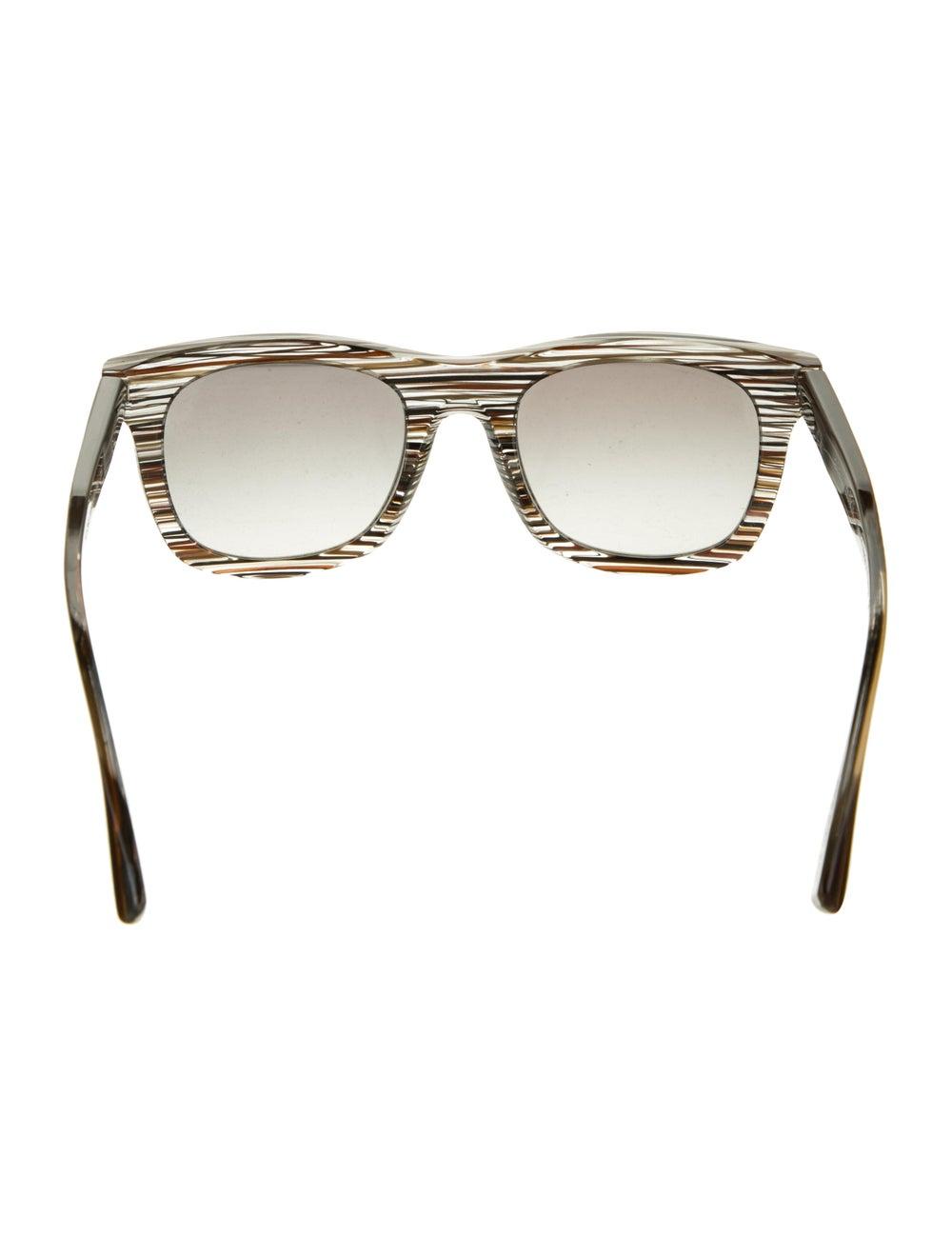 Alain Mikli Tinted Wayfarer Sunglasses Grey - image 3