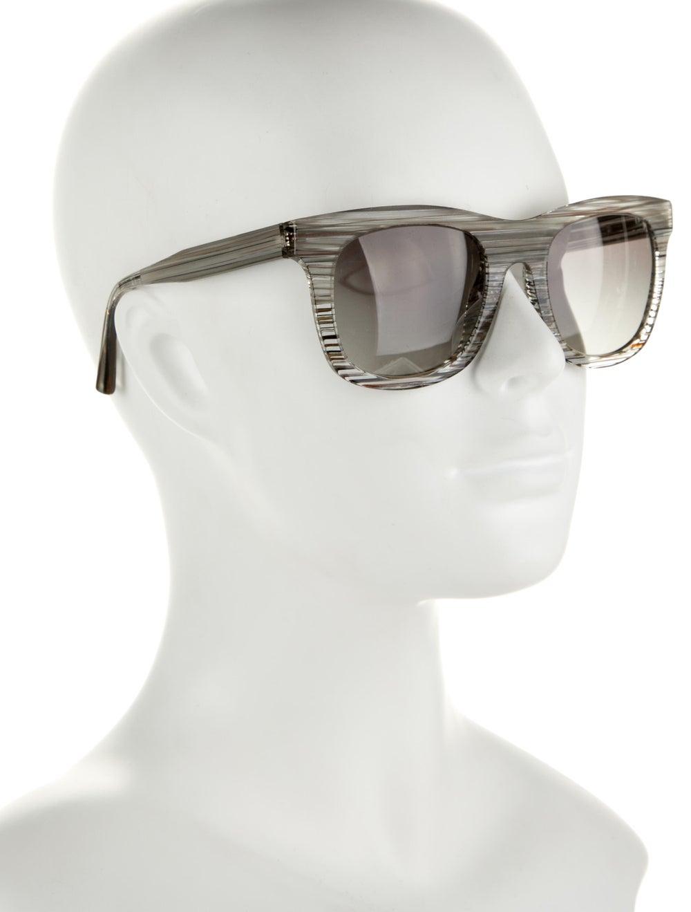 Alain Mikli Tinted Wayfarer Sunglasses Grey - image 4