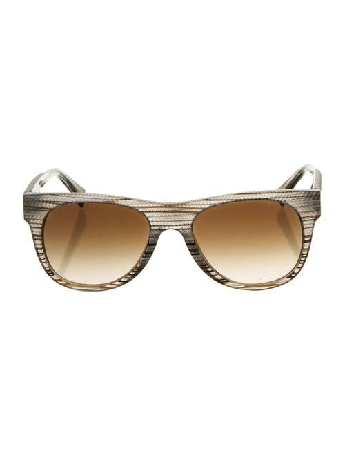 Alain Mikli Wayfarer Tinted Sunglasses multicolor