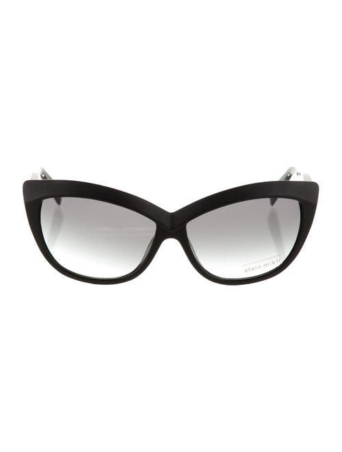 Alain Mikli Cat-Eye Tinted Sunglasses Black - image 1