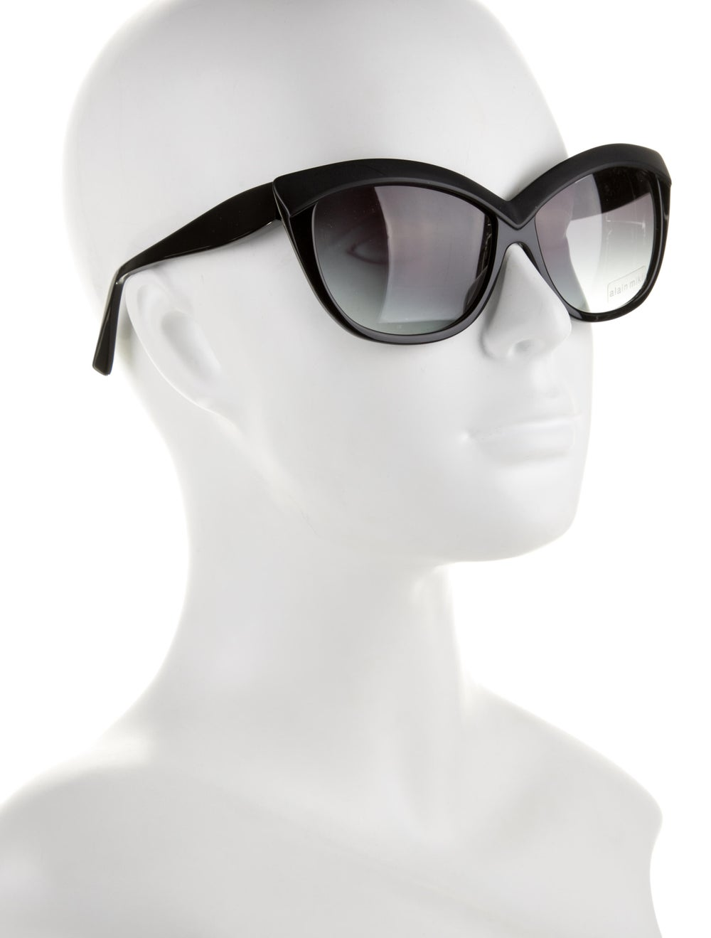 Alain Mikli Cat-Eye Tinted Sunglasses Black - image 4