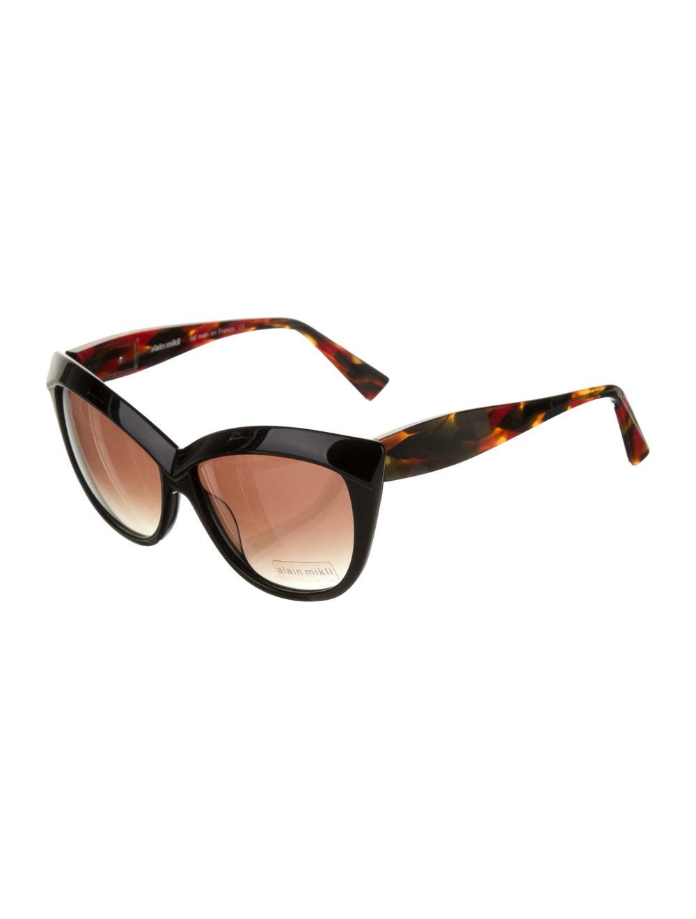 Alain Mikli Cat-Eye Tinted Sunglasses Black - image 2