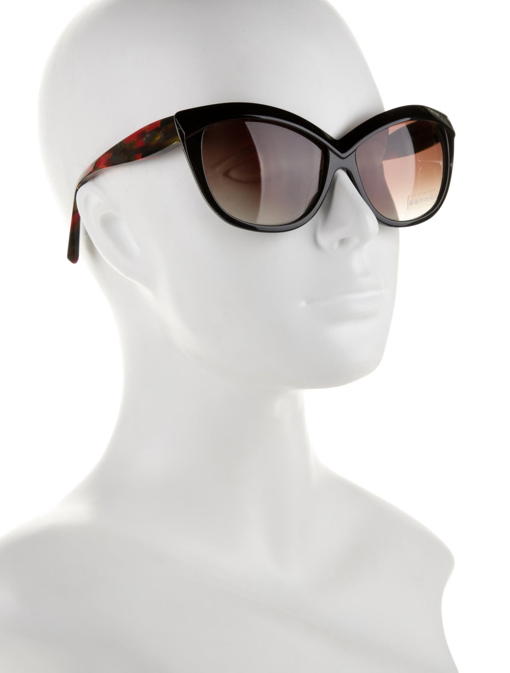 Alain Mikli Cat-Eye Tinted Sunglasses Black - image 4
