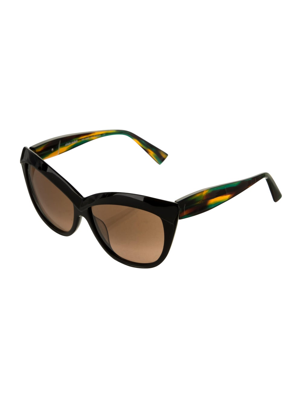 Alain Mikli Cat-Eye Tinted Sunglasses Black - image 2