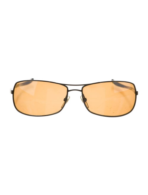 Alain Mikli Square Aviator Sunglasses brown - image 1