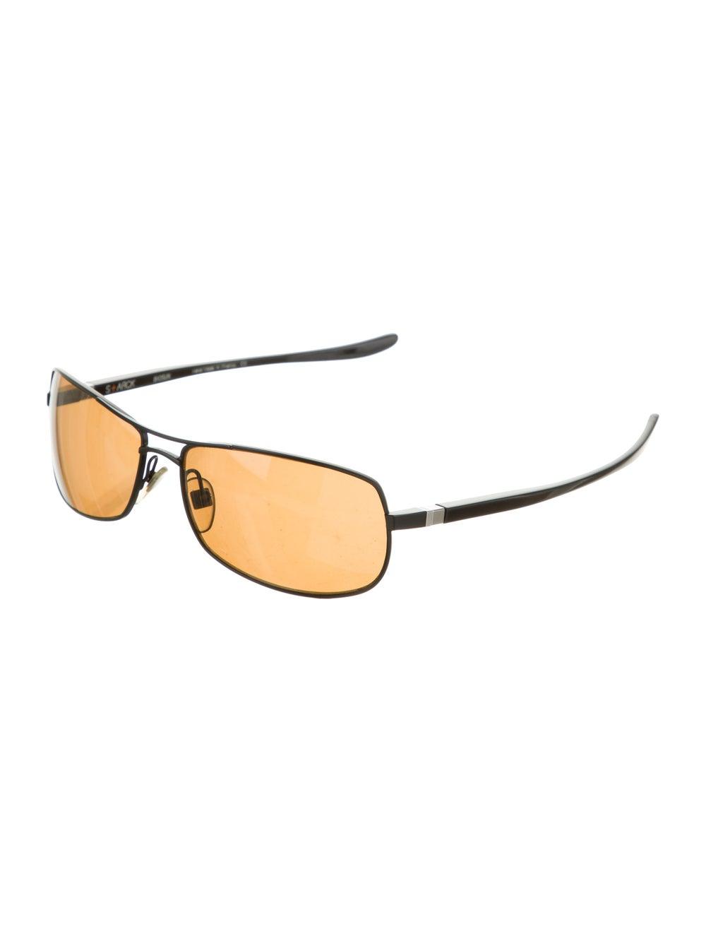 Alain Mikli Square Aviator Sunglasses brown - image 2