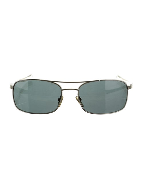 Alain Mikli Tinted Aviator Sunglasses silver - image 1