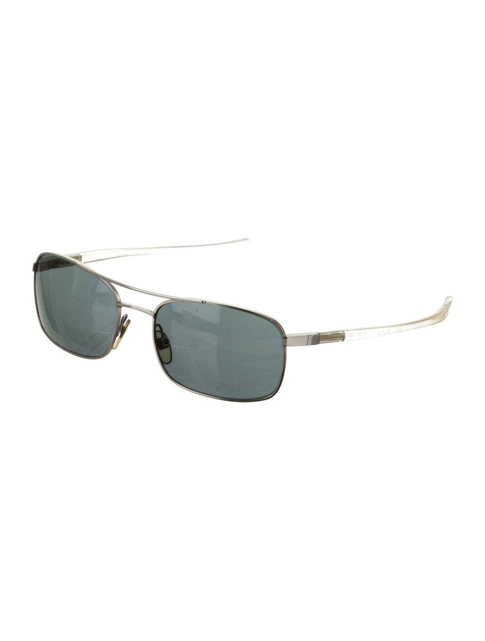 Alain Mikli Tinted Aviator Sunglasses silver - image 2