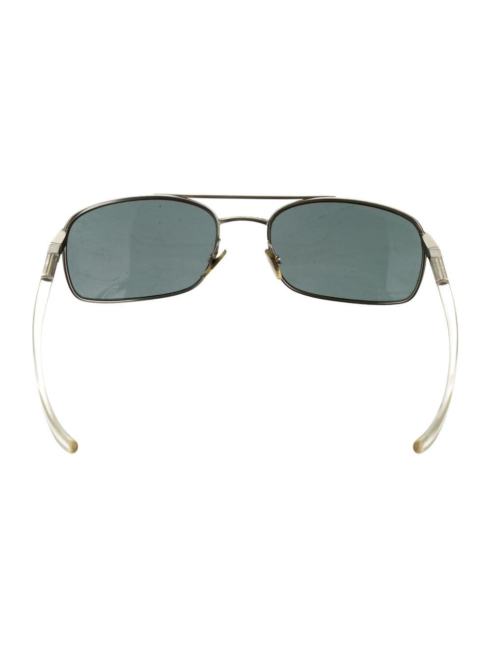 Alain Mikli Tinted Aviator Sunglasses silver - image 3