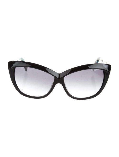 Alain Mikli Gradient Cat-Eye Sunglasses Black - image 1