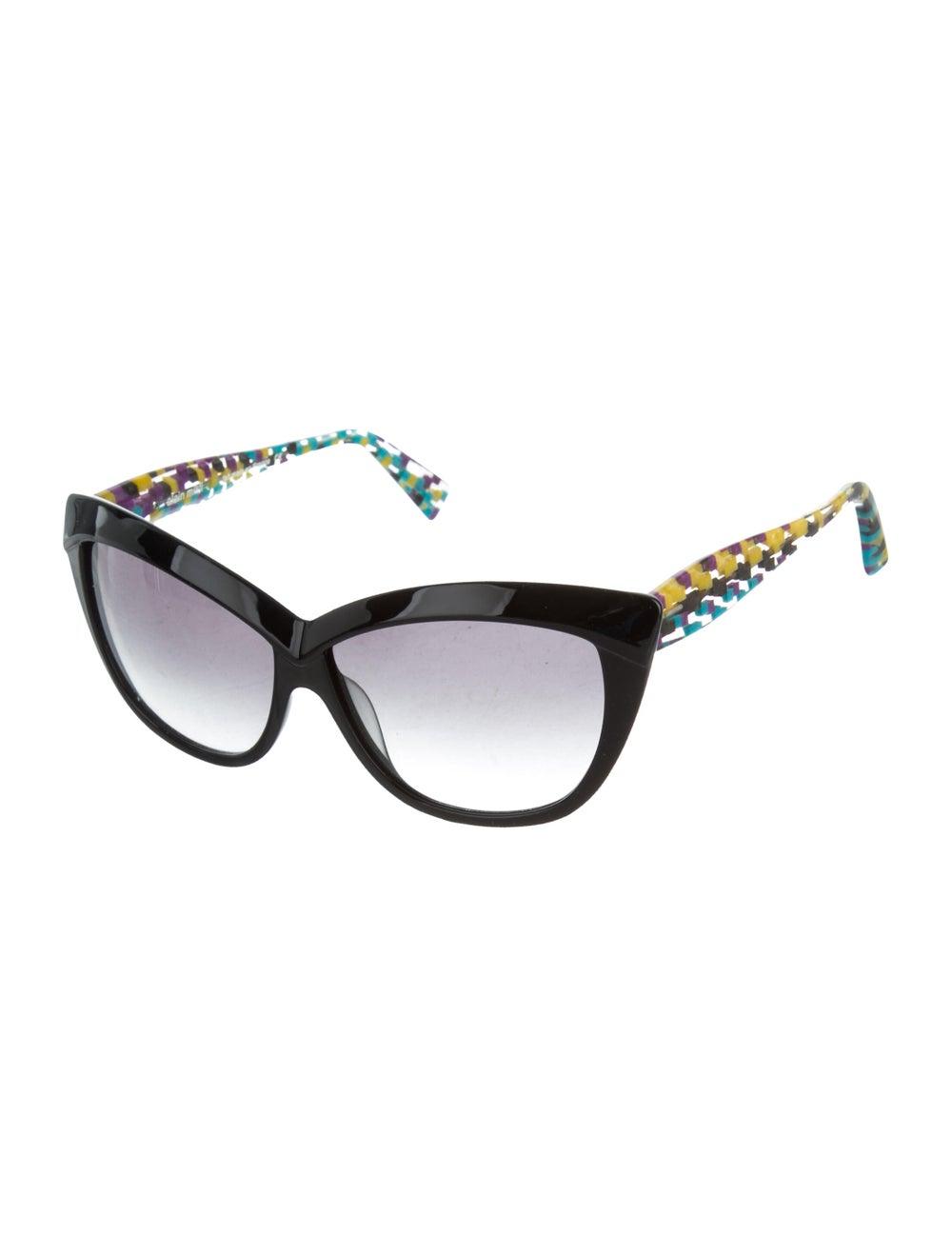 Alain Mikli Gradient Cat-Eye Sunglasses Black - image 2