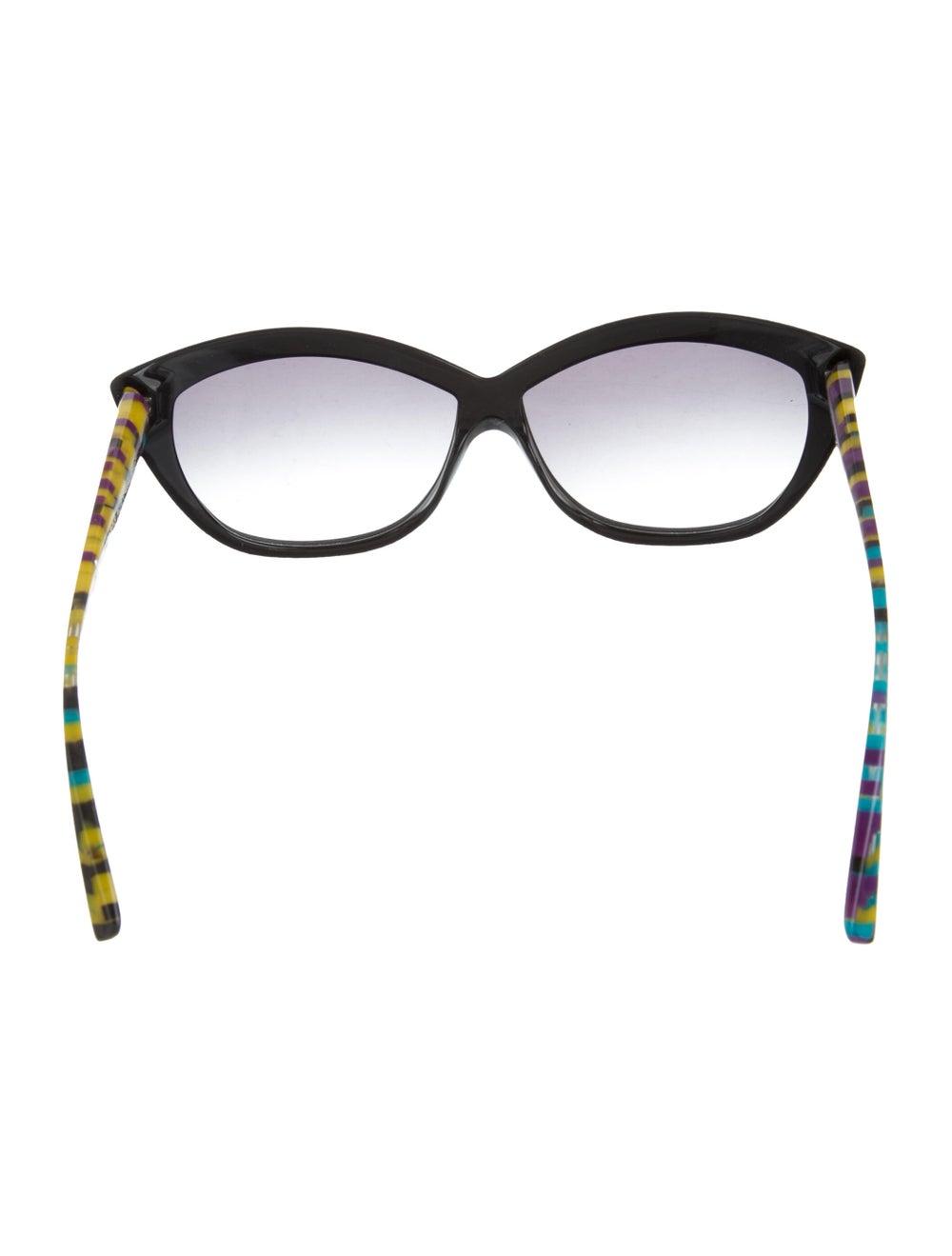 Alain Mikli Gradient Cat-Eye Sunglasses Black - image 3