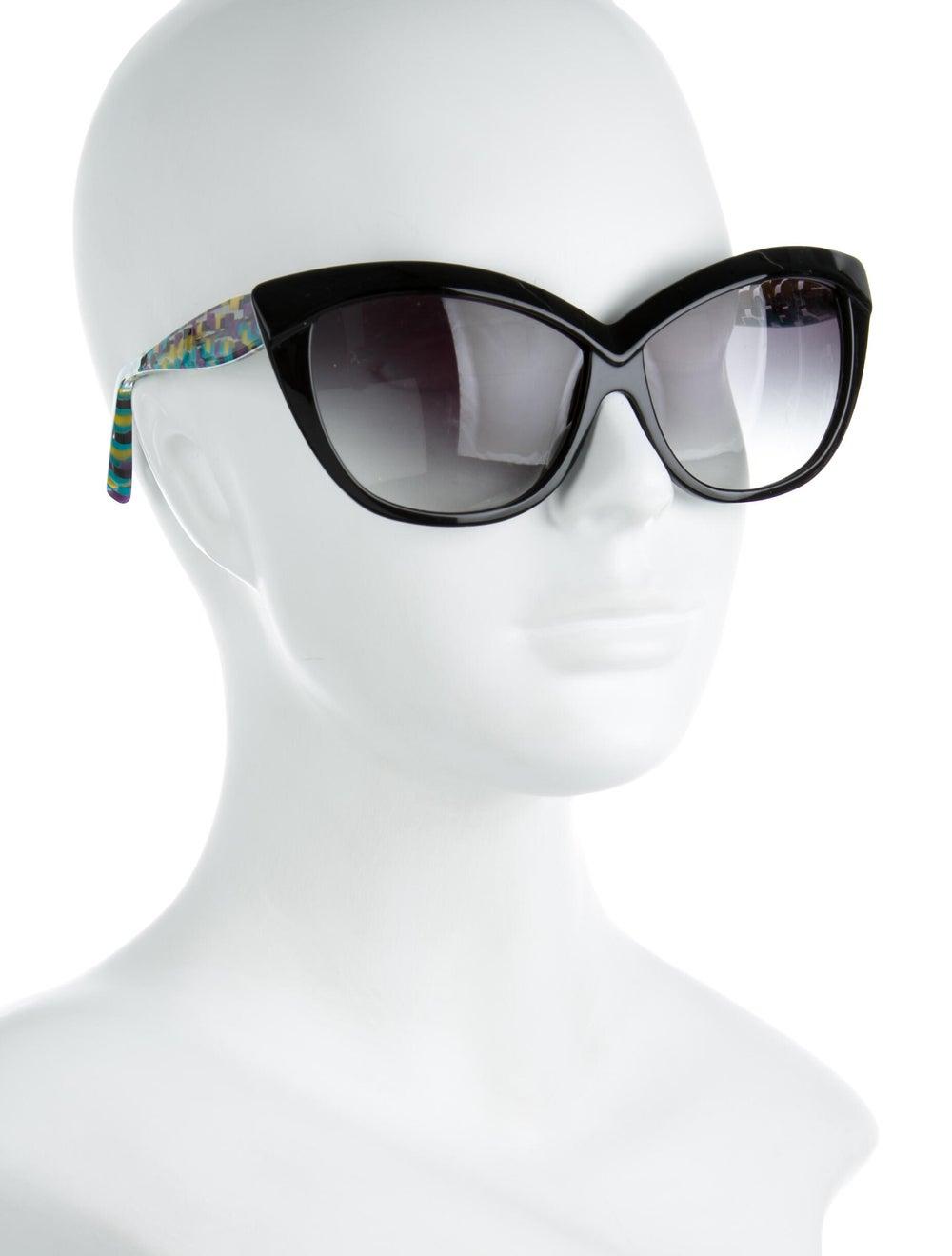 Alain Mikli Gradient Cat-Eye Sunglasses Black - image 4