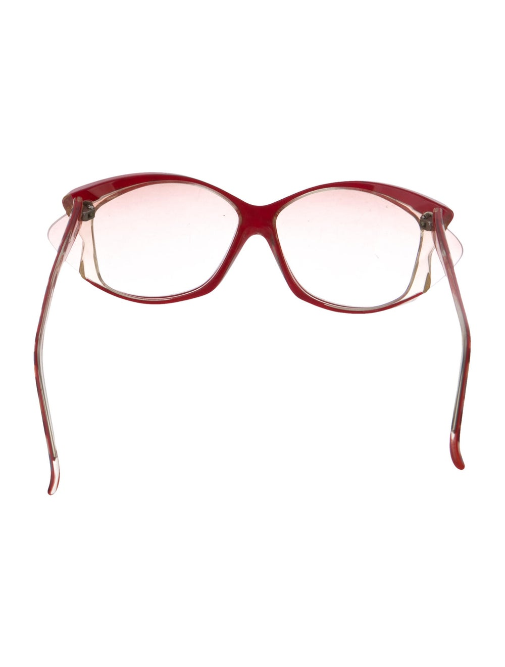 Alain Mikli Oversize Tinted Sunglasses Red - image 3