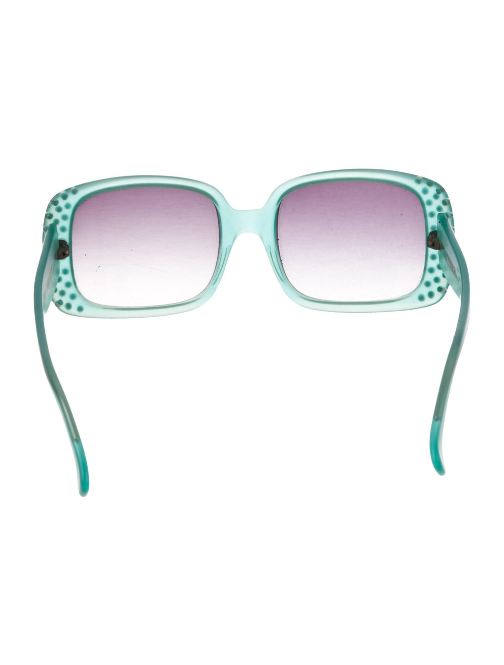 Alain Mikli Oversize Tinted Sunglasses Green - image 3