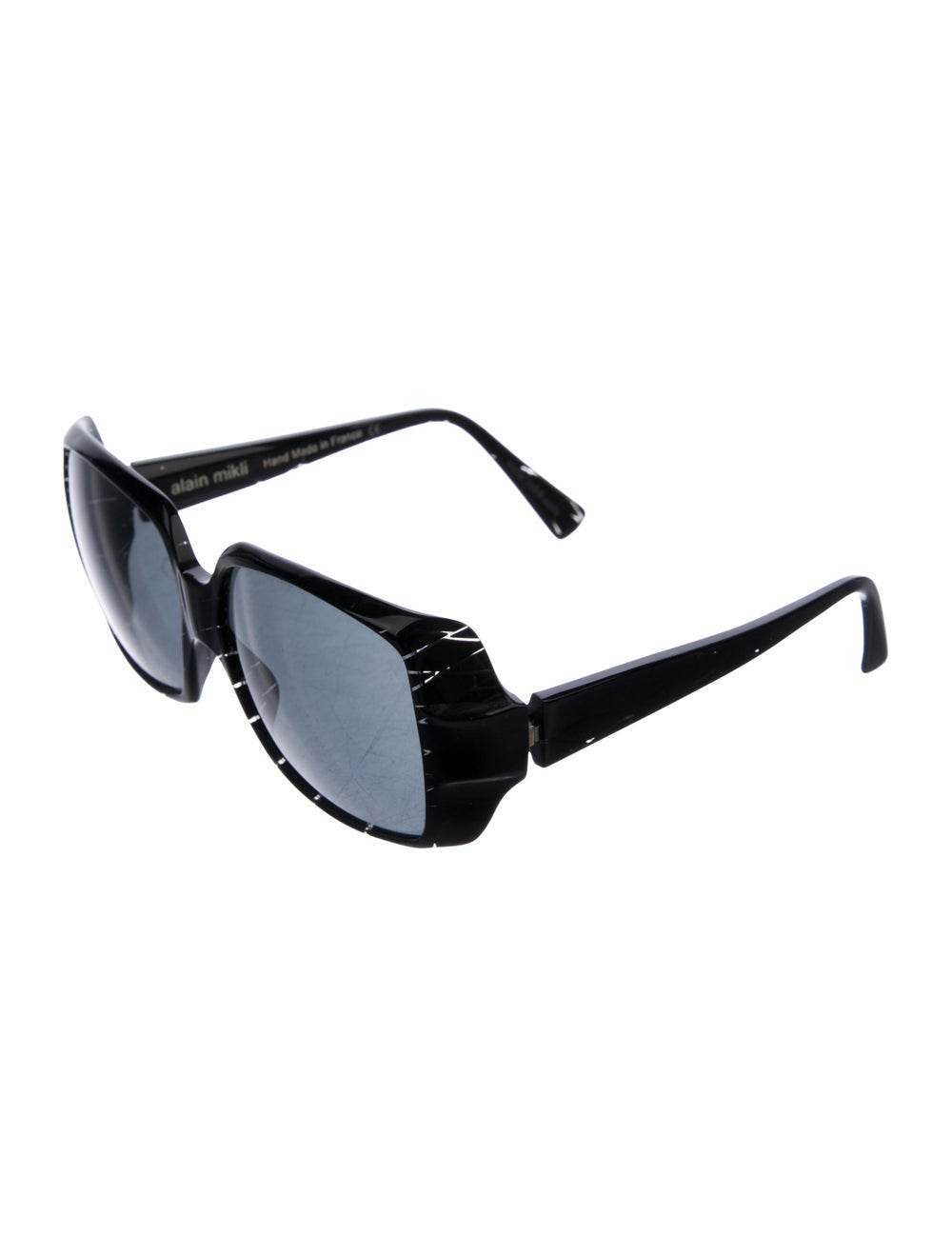Alain Mikli Tinted Square Sunglasses Black - image 2