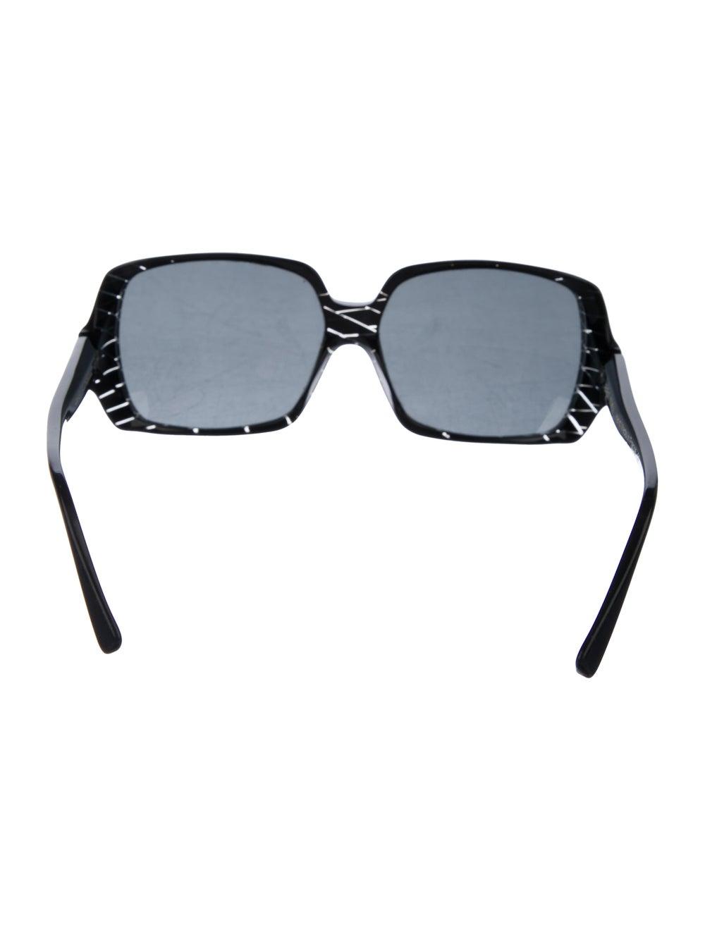Alain Mikli Tinted Square Sunglasses Black - image 3