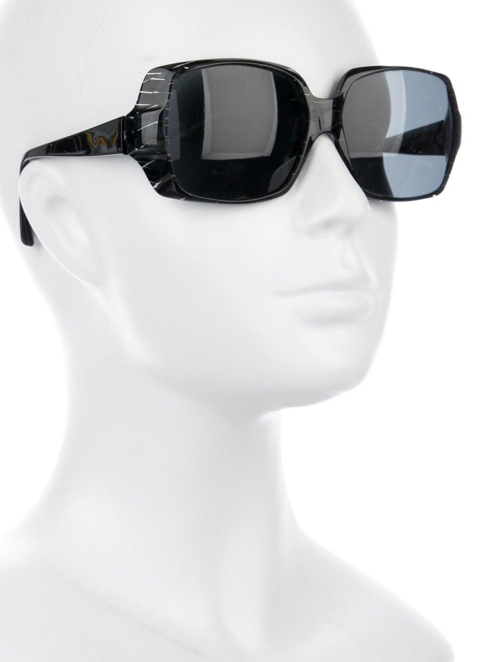 Alain Mikli Tinted Square Sunglasses Black - image 4