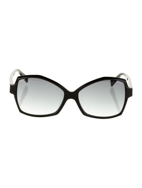 Alain Mikli Gradient Square Sunglasses Black - image 1