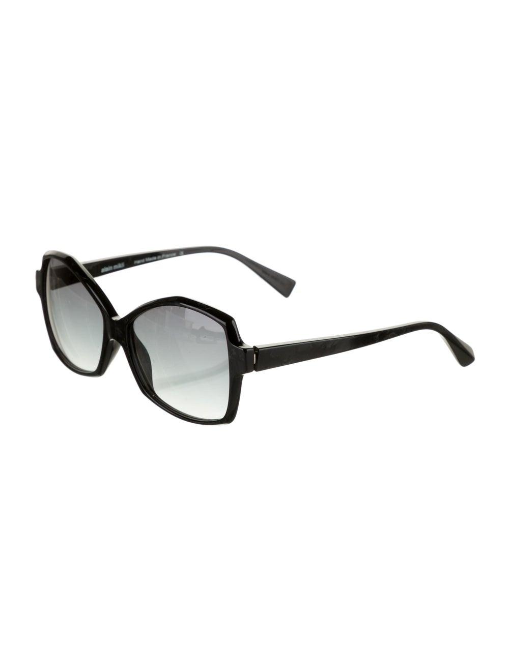 Alain Mikli Gradient Square Sunglasses Black - image 2