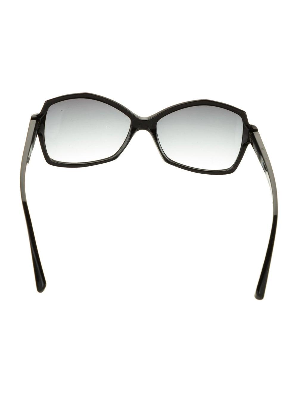 Alain Mikli Gradient Square Sunglasses Black - image 3