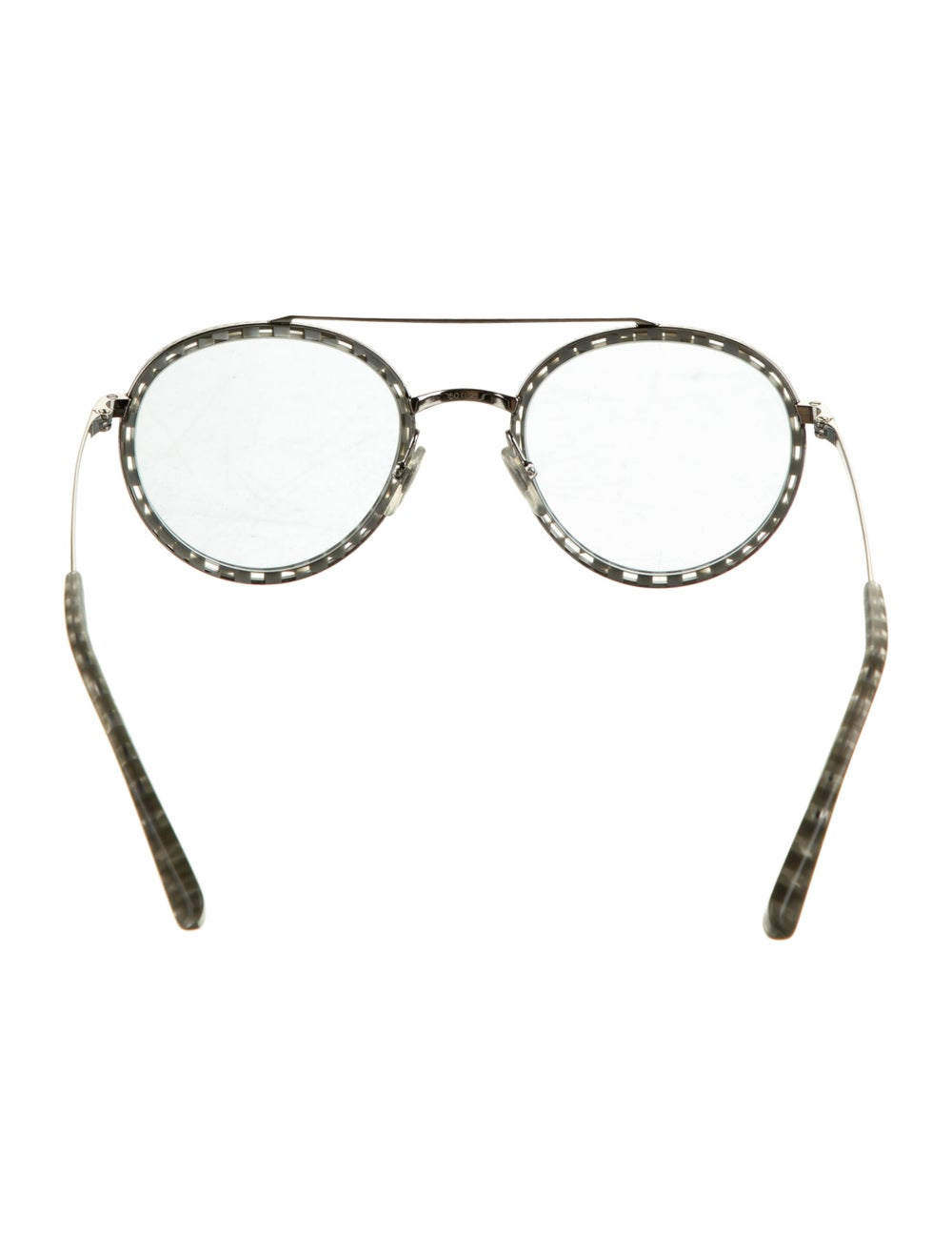 Alain Mikli Tinted Round Sunglasses Silver - image 3