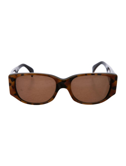 Alain Mikli Square Tinted Sunglasses Orange
