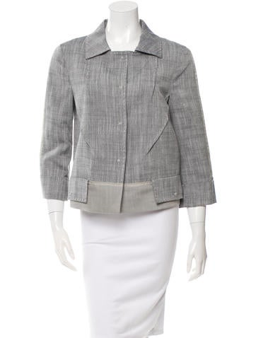 Alberta Ferretti Short Swing Jacket