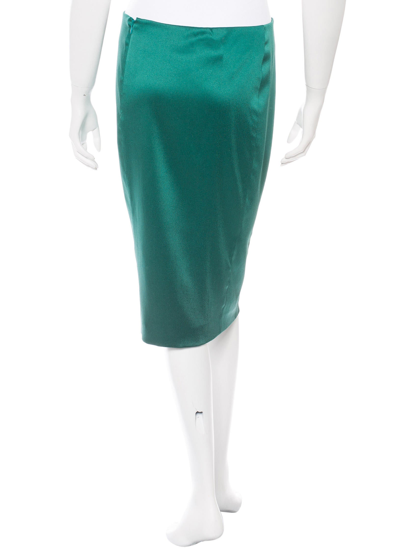 alberta ferretti knee length pencil skirt clothing