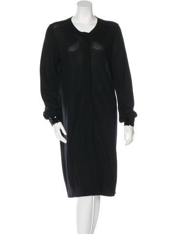 Alberta Ferretti Wool Embellished Cardigan None