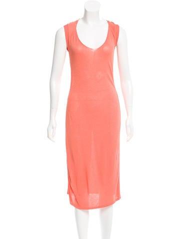 Alberta Ferretti Knit Midi Dress w/ Tags None