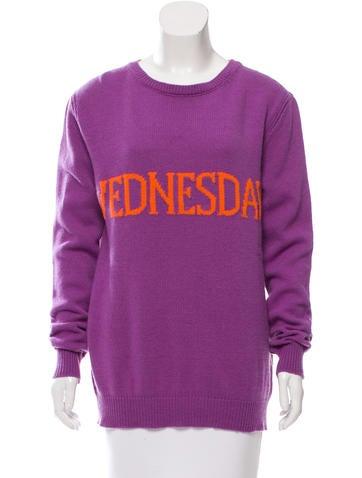 Alberta Ferretti Wool & Cashmere-Blend Knit Sweater None