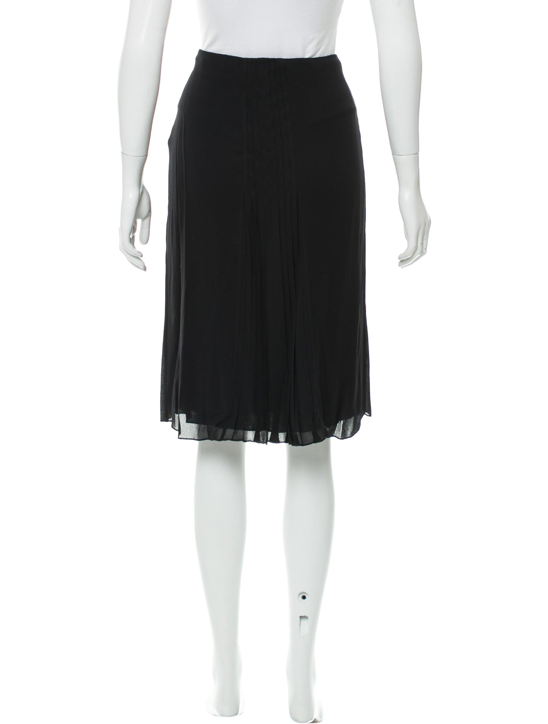 alberta ferretti a line knee length skirt clothing