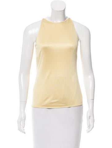 Alberta Ferretti Sleeveless Top None