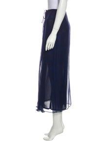 Alberta Ferretti Midi Length Skirt