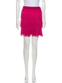 Alberta Ferretti Tassel Accents Mini Skirt w/ Tags