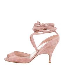 d55f3e8c214 Alchimia Di Ballin. Suede Lace-Up Sandals