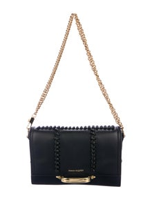 Alexander McQueen Leather The Story Bag