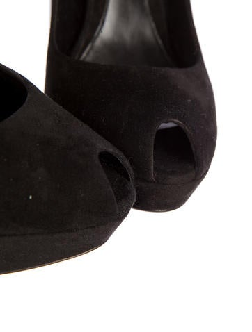 Suede Pumps w/ Tags