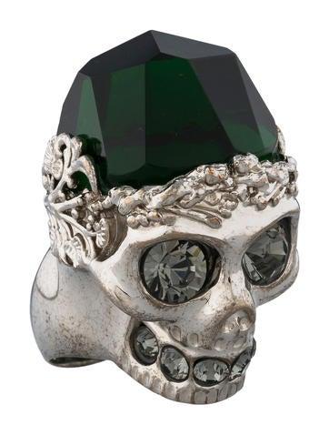 Skull Ring w/ Tags