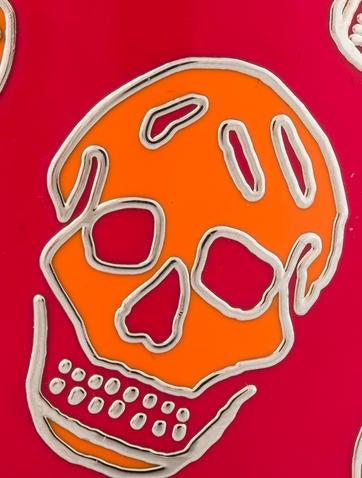Enamel Skull Bangle